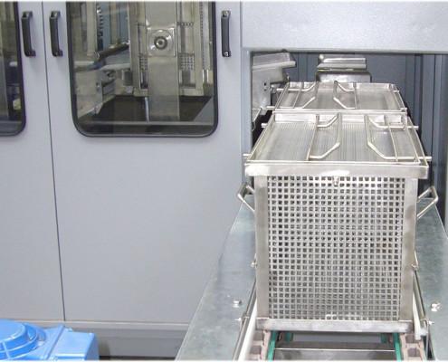 Kosze technologiczne, mycie przemysłowe