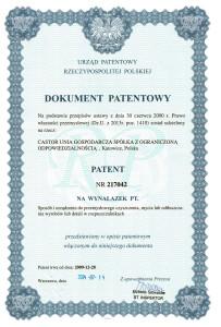 Dokument patentowy nr 217042