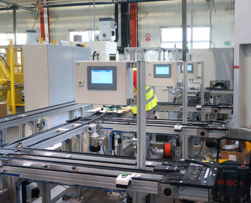 automatyzacja procesów produkcyjnych