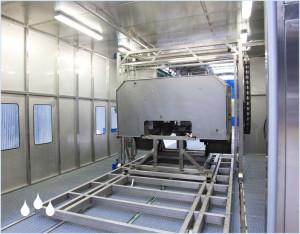 Przemysłowe mycie przed montażem