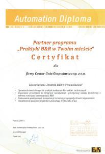 Dyplom B&R