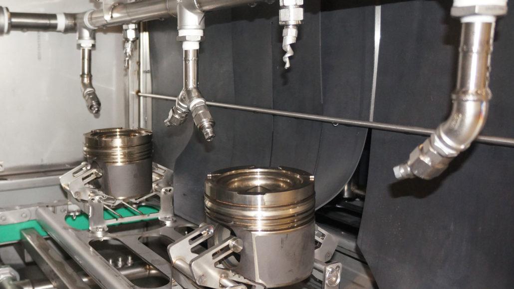mycie przemysłowe - dysze natryskowe