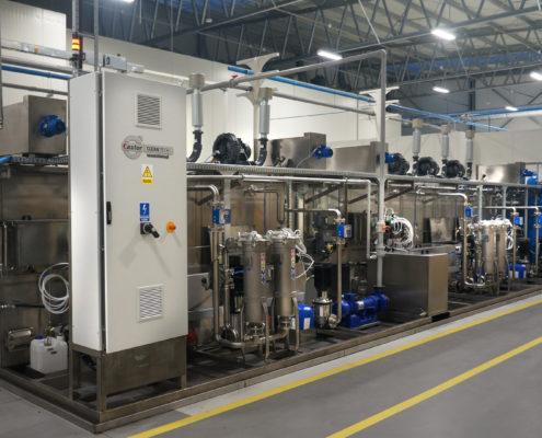 uruchomienie myjni przelotowo-taktowej SPRAY-CAST 3001