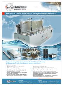 Ultradźwięki - mycie przemysłowe
