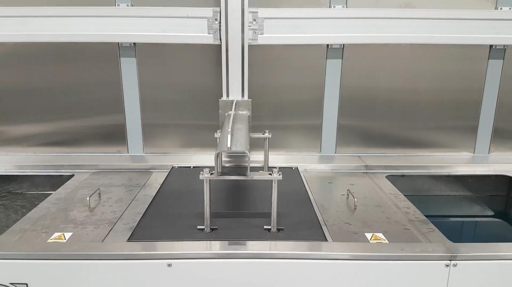 mycie przemysłowe za pomocą ultradźwięków