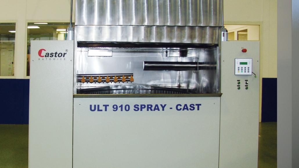 myjnia ultradźwiękowa z natryskiem