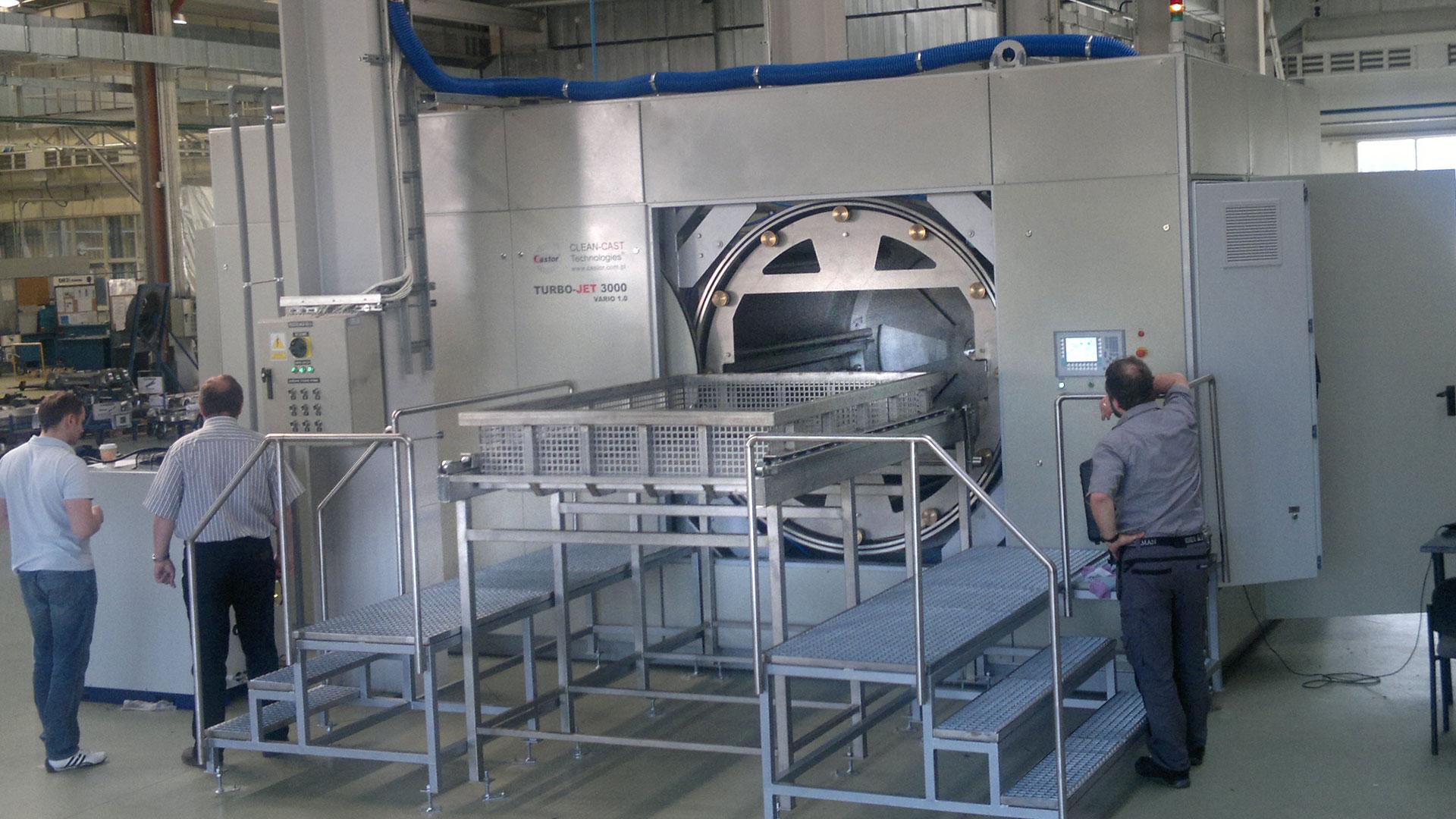 systemy mycia przemysłowego