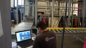 budowa myjni natryskowo-ultradźwiękowej