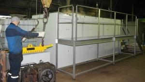 Mycie części przemysłowych o dużych gabarytach
