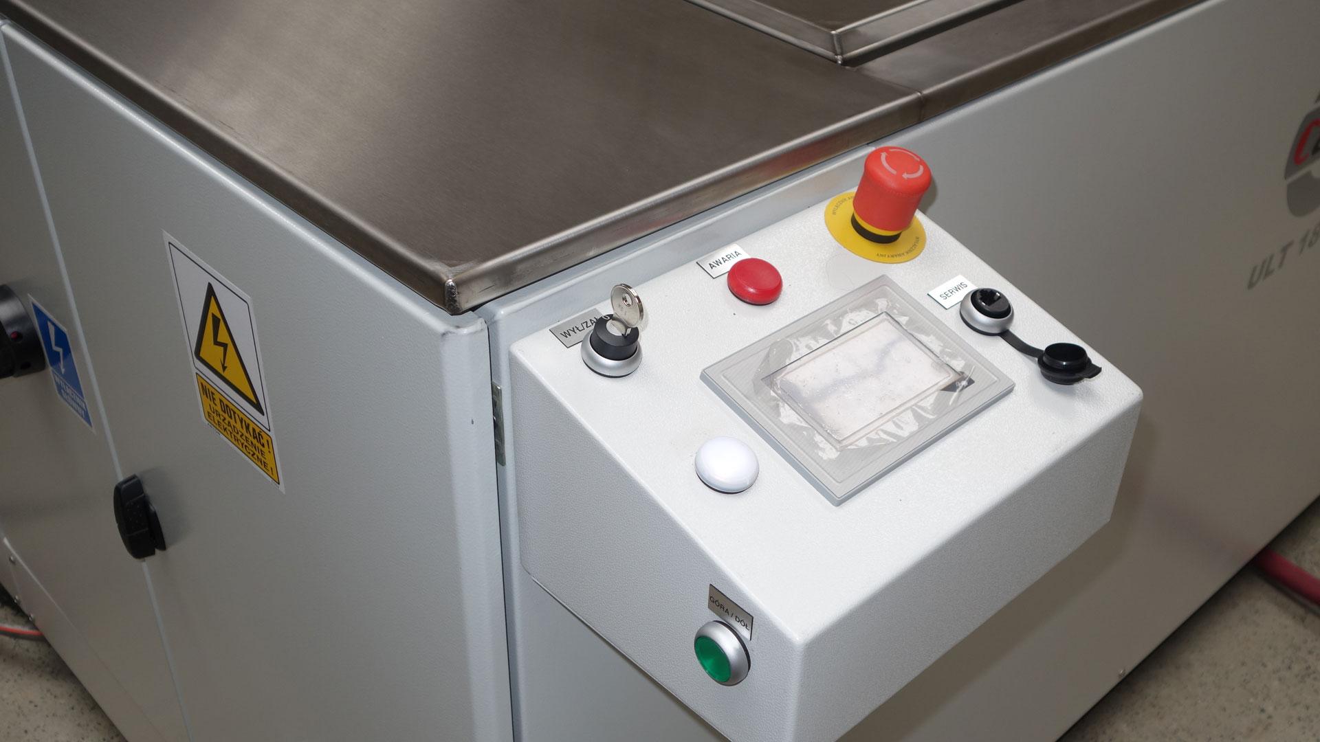 myjnia ultradźwięka