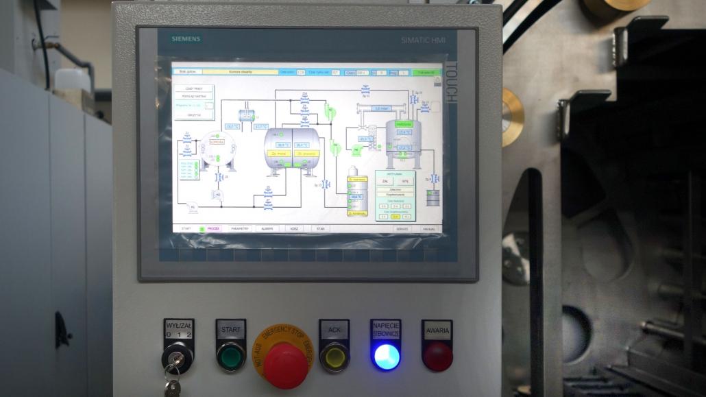 Technologia mycia przemysłowego