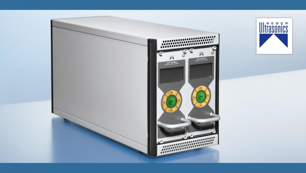 myjnie ultradźwiękowe wyposażone w generatory ultradźwięków firmy Weber Ultrasonics A.G.