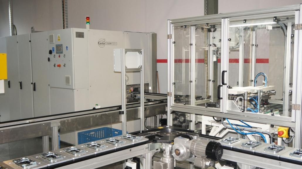 automatyzacja przemysłowej linii myjącej