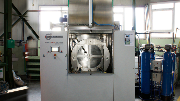 Mycie przemysłowe detali