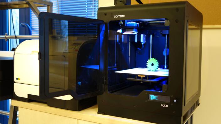 druk 3D projektowanie myjni przemyslowej