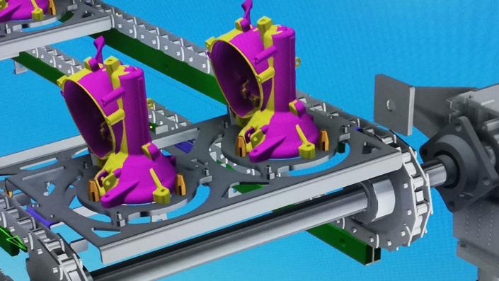 projektowanie myjni przemyslowej