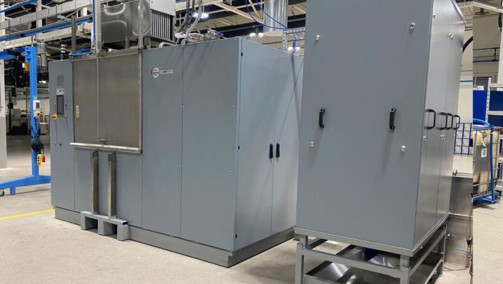 mycie przemysłowe detali odzysk środka myjącego