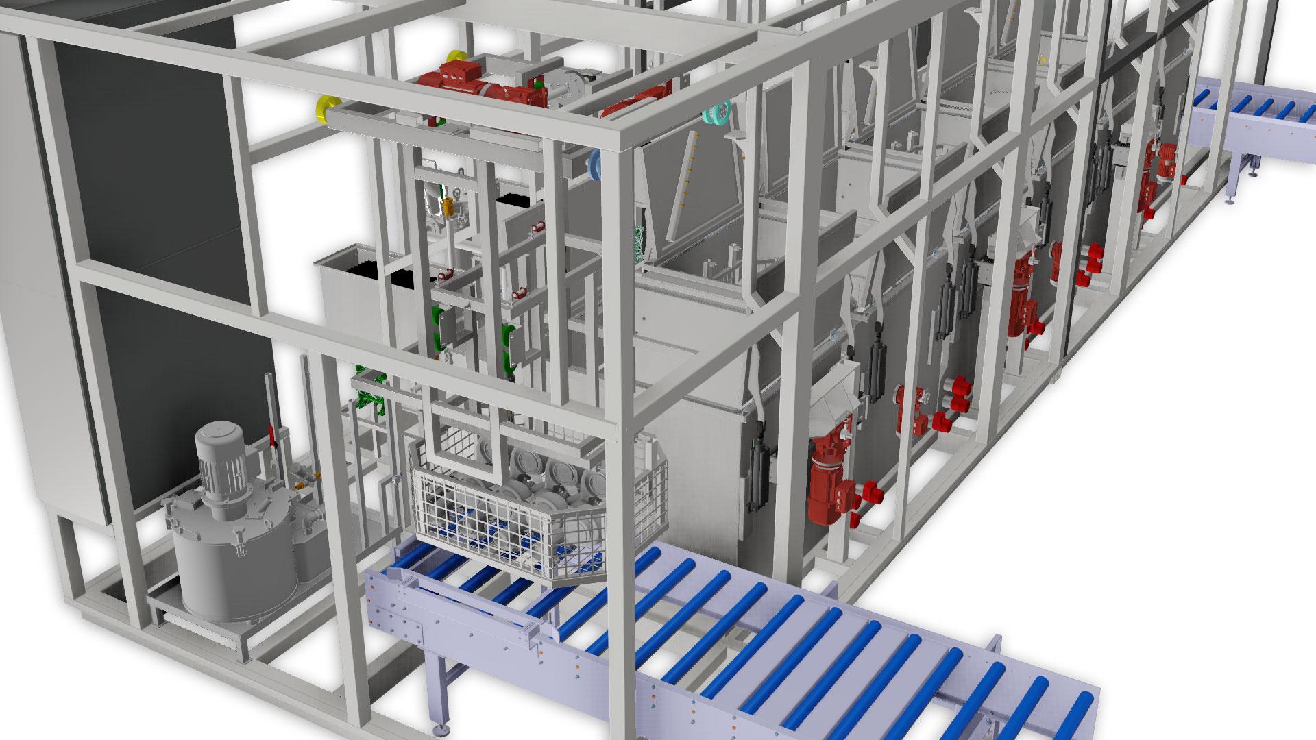 projektowanie myjni przemysłowych