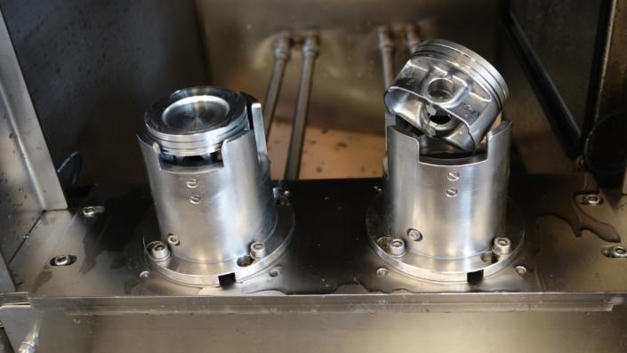 Mycie przemysłowe komponentow