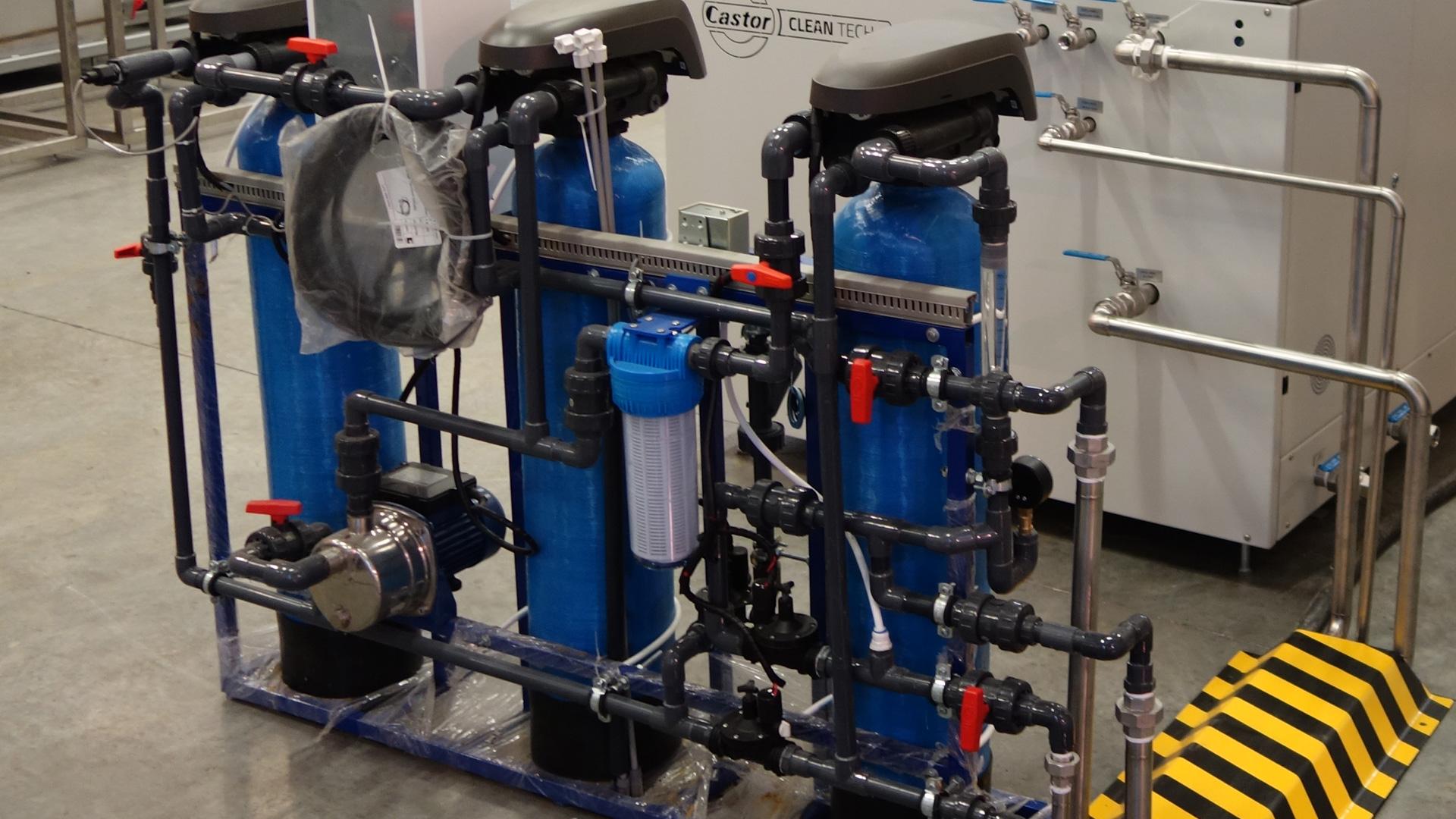 Stacja demineralizacji wody
